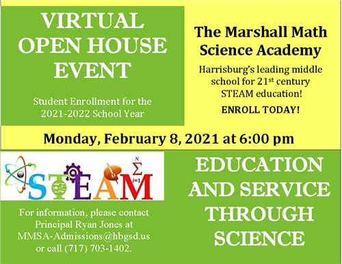 MMS Open House and Enrollment