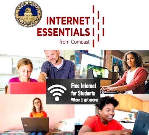 Sign up to see if your family qualifies for free Comcast Internet service.