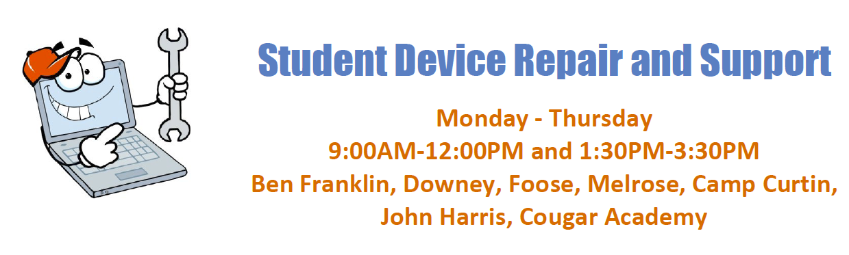 Student Device Repair and Support